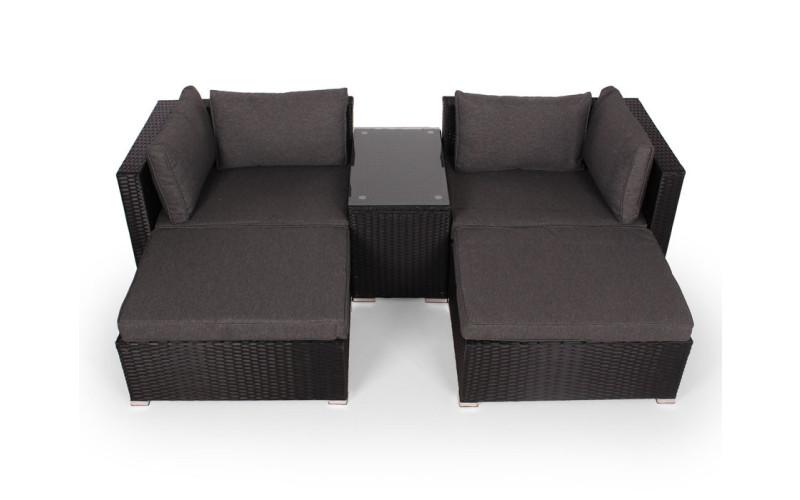 Dana Loungesæt sort