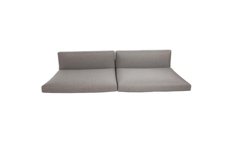 Cane-line Connect hyndesæt til 3.pers sofa Taupe