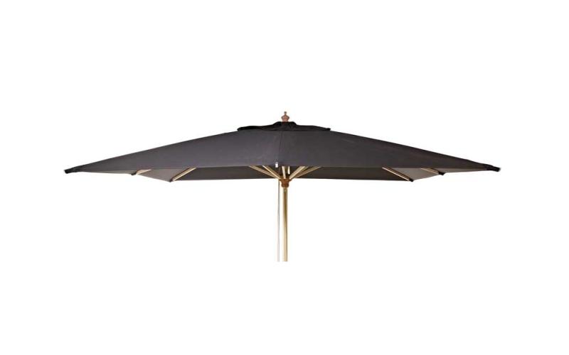 OLEFIN Luksus Parasol 300x300 Sort