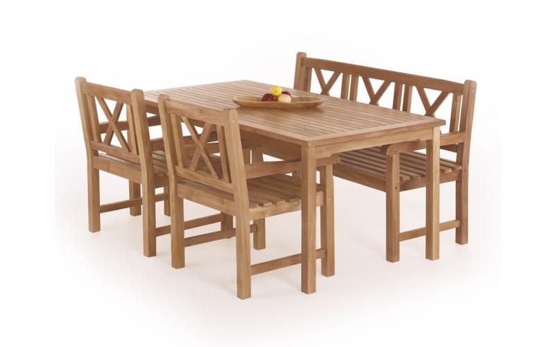 Blokhus Teak Havemøbelsæt