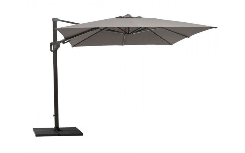 Cane-line Hyde Lux parasol 300x300 Taupe