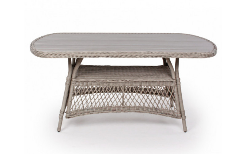 Enø havebord ovalt 90x165