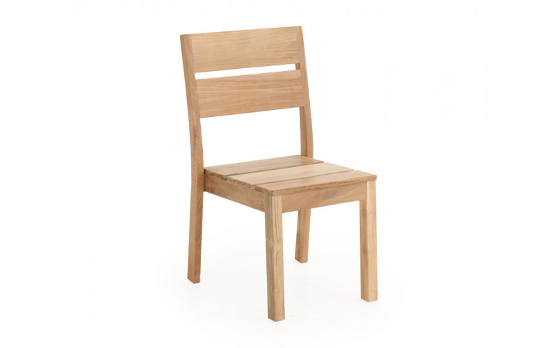 Harald teak stabelstol uden armlæn