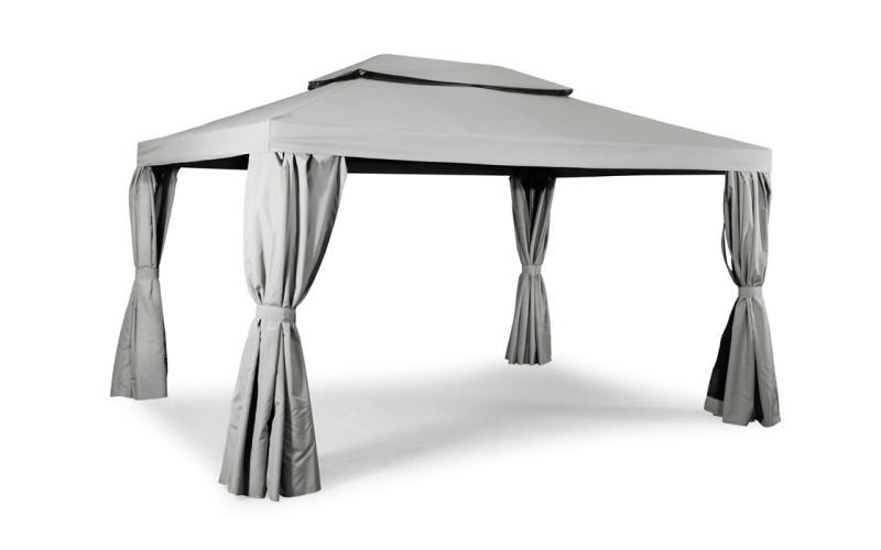 Luxus Pavillon 3x4 meter lys grå