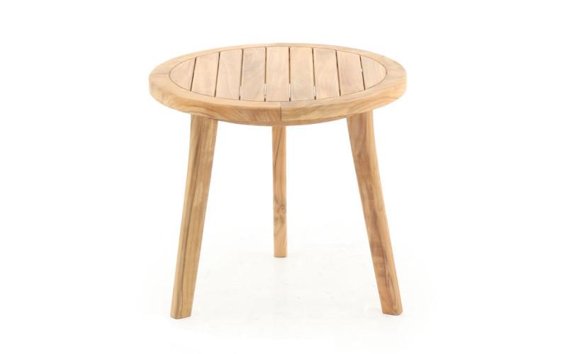 Mira Side bord i Kerne Teak Ø50 cm