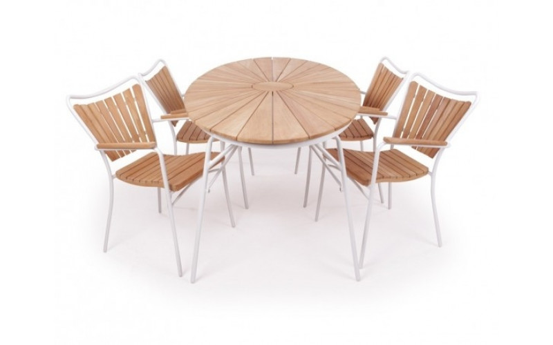 Rørvig Havemøbelsæt 90x180 cm