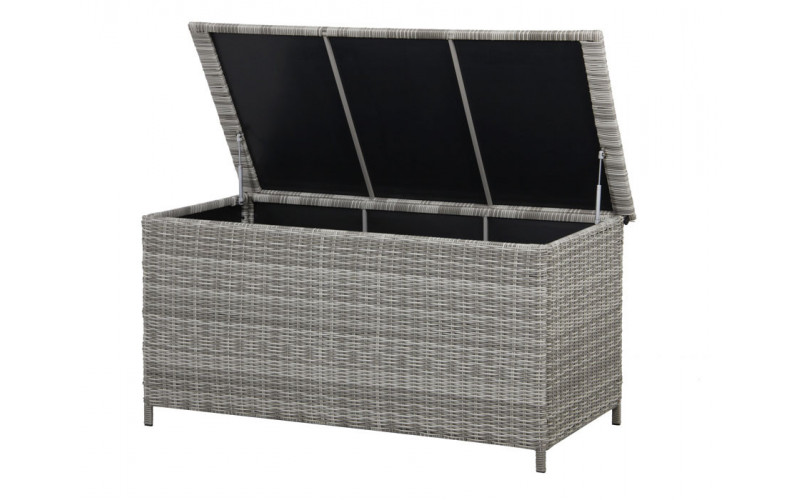 Tana Hyndeboks Siesta Lys grå 160x80x78 cm