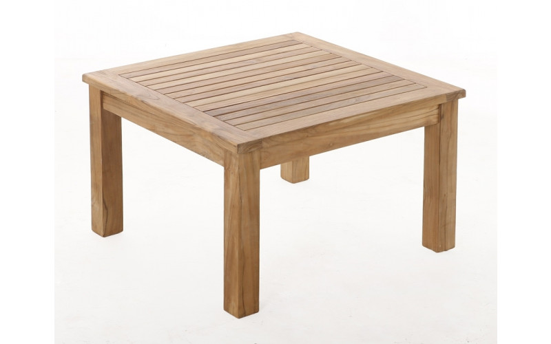 Colorado sofabord Teak - 80 x 80 cm