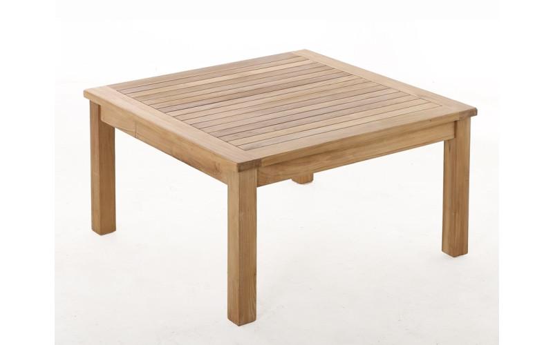 Teak sofabord - 90 x 90 cm