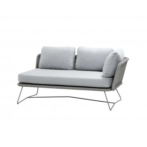 Cane-line Horizon 2.pers. sofa venstra inkl. hynder