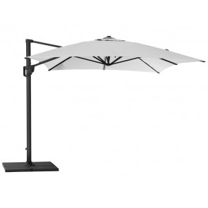 Cane-line Hyde Lux parasol 300x400 Dusty white