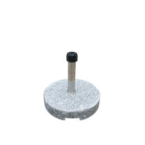 Parsolfod 35kg m/hjul Grå granit