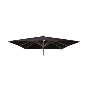 Parasol 250x250 med tilt Sort