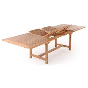 Anna Teak udtræksbord - 100x200/250/300 cm
