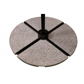 Parasolfod / del Granit til hængeparasol - 20 kg.