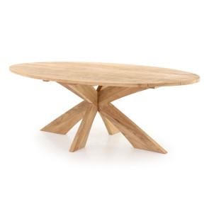 Harald Elipse bord 110x220 cm