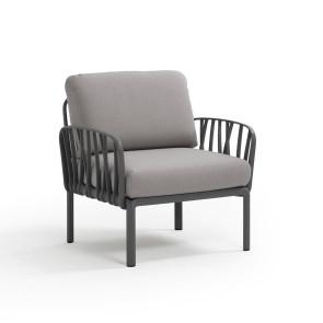 Nardi KOMODO Lounge stol Antracit