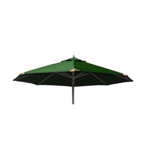 Parasol Ø250 med tilt Grøn