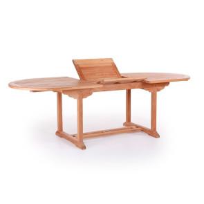 Mario Teak udtræksbord - 100x180 / 240 cm