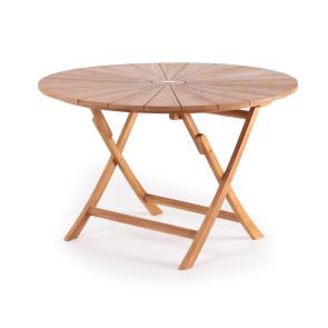 Matahari Luksus rundt teak bord Ø120