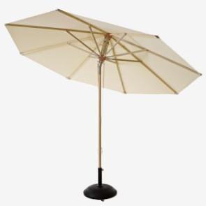 Parasol De Lux OLEFIN Ø330 Natur