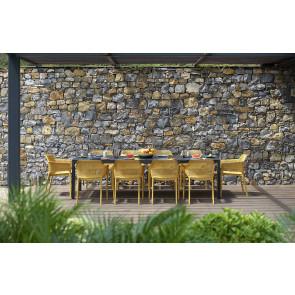 NARDI RIO 280 Havemøbelsæt Antracit-Sennep