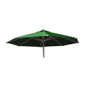 Markedsparasol Ø300 med tilt Grøn
