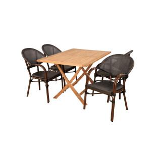 Sofie Bistro havemøbelsæt 70x120 cm