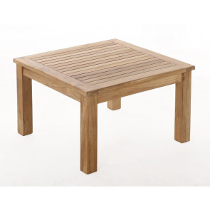 Teak sofabord - 80 x 80 cm